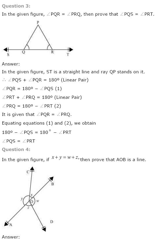 Lines And Angles NCERT Solutions 3