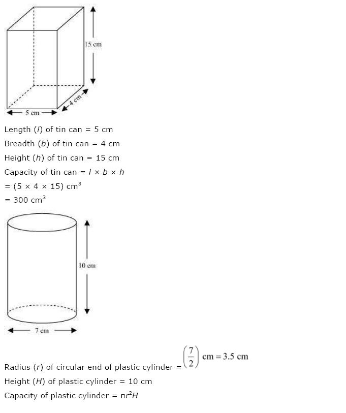 Surface Areas And Volumes NCERT Solutions 37