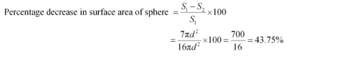 Surface Areas And Volumes NCERT Solutions 63