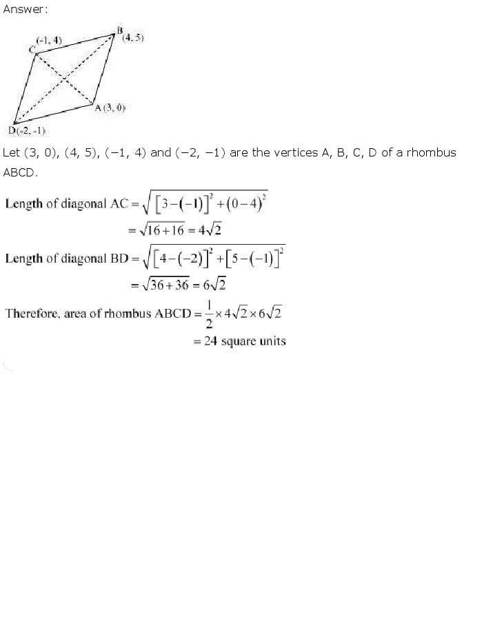 10th, Maths, Coordinate Geometry 16