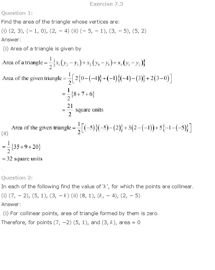 10th, Maths, Coordinate Geometry 17