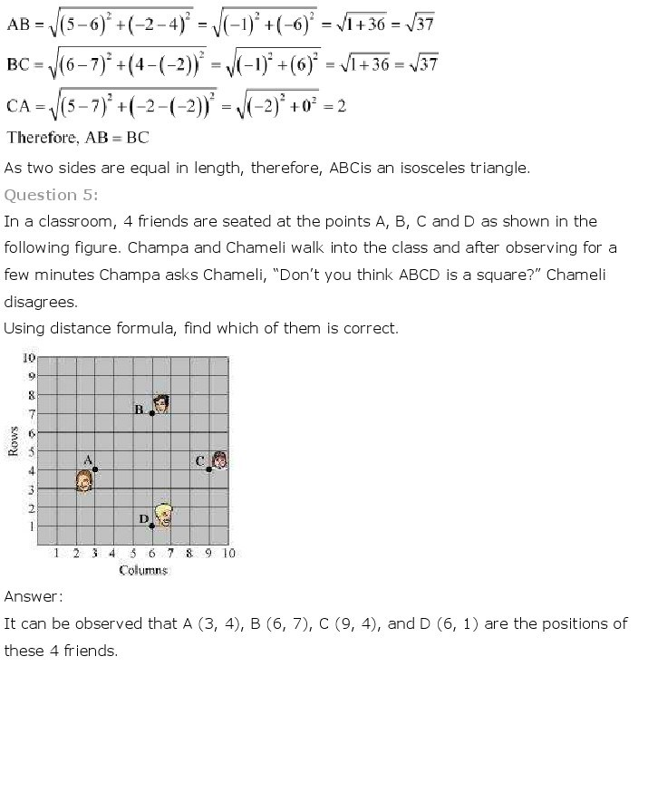 10th, Maths, Coordinate Geometry 3