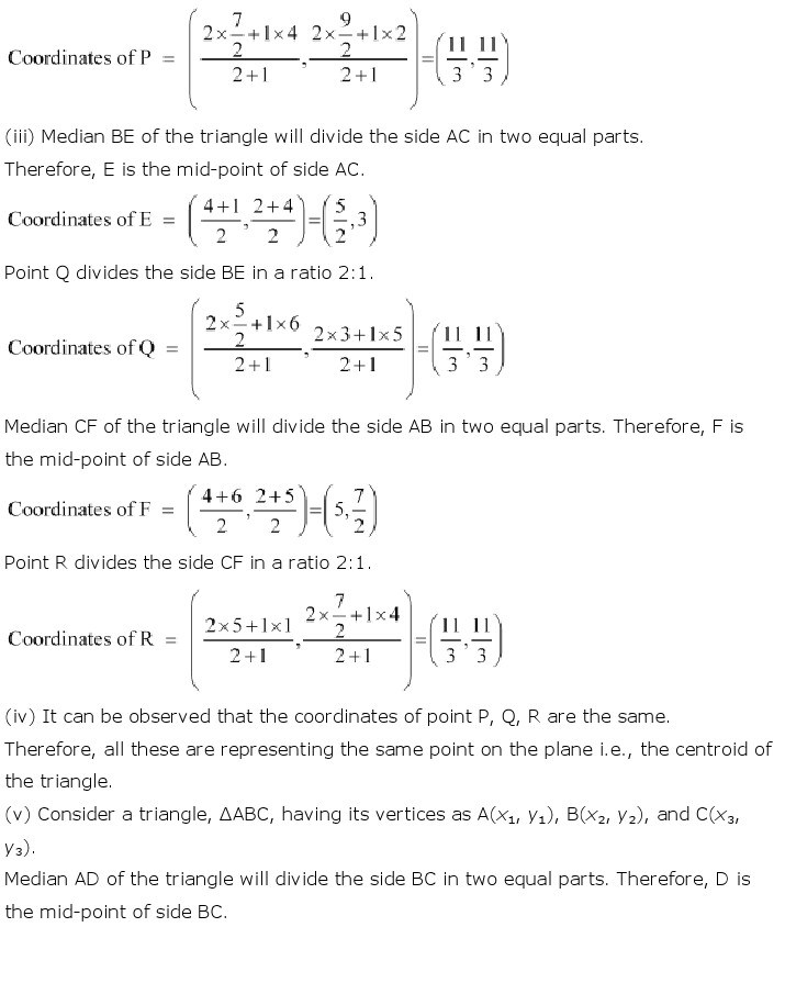 10th, Maths, Coordinate Geometry 30