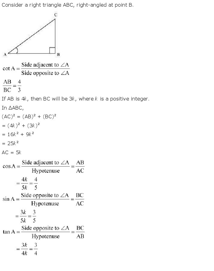 10th, Maths, Introduction to Trigonometry 12
