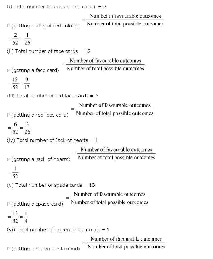 10th, Maths, Probability 9