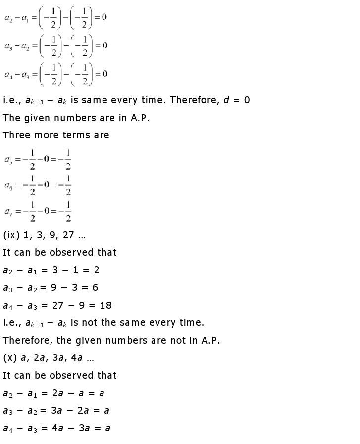 10th, Maths, Quadratic Equations 13