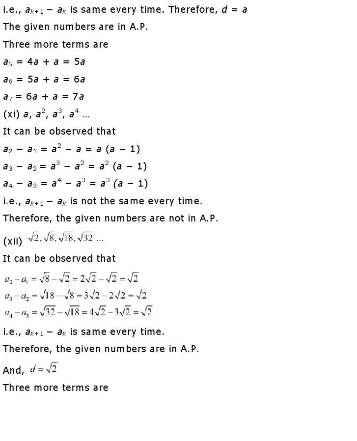 10th, Maths, Quadratic Equations 14