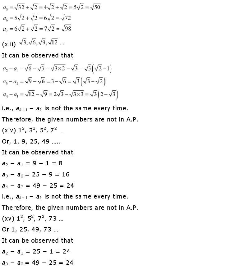 10th, Maths, Quadratic Equations 15