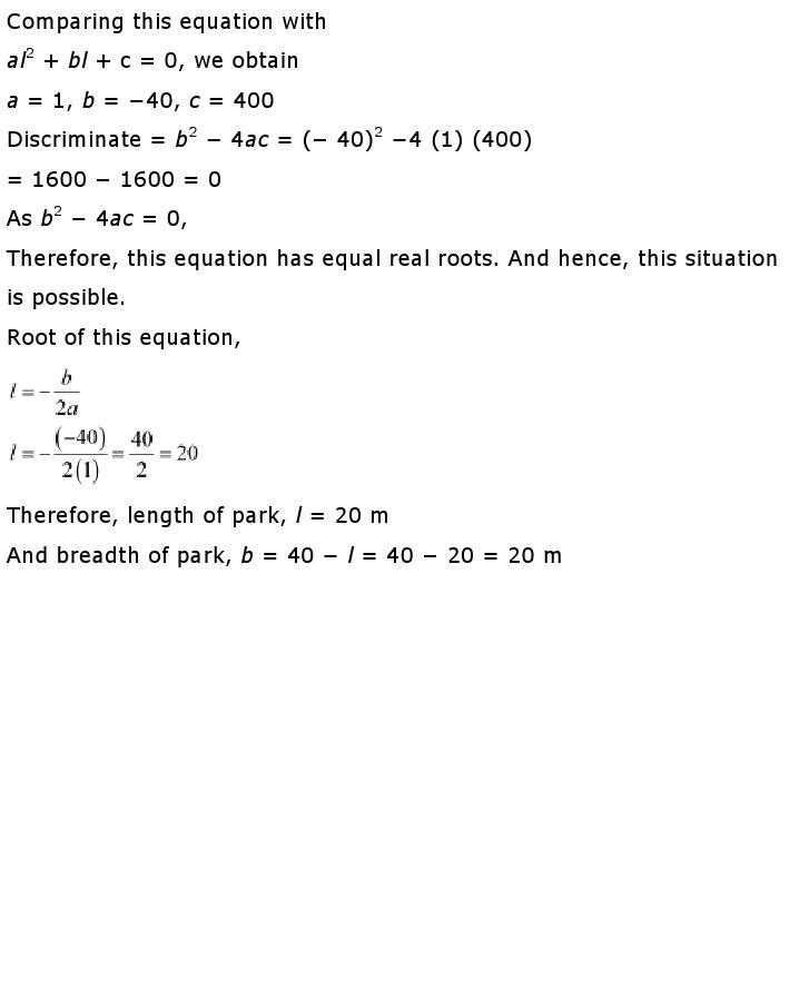 10th, Maths, Quadratic Equations 41