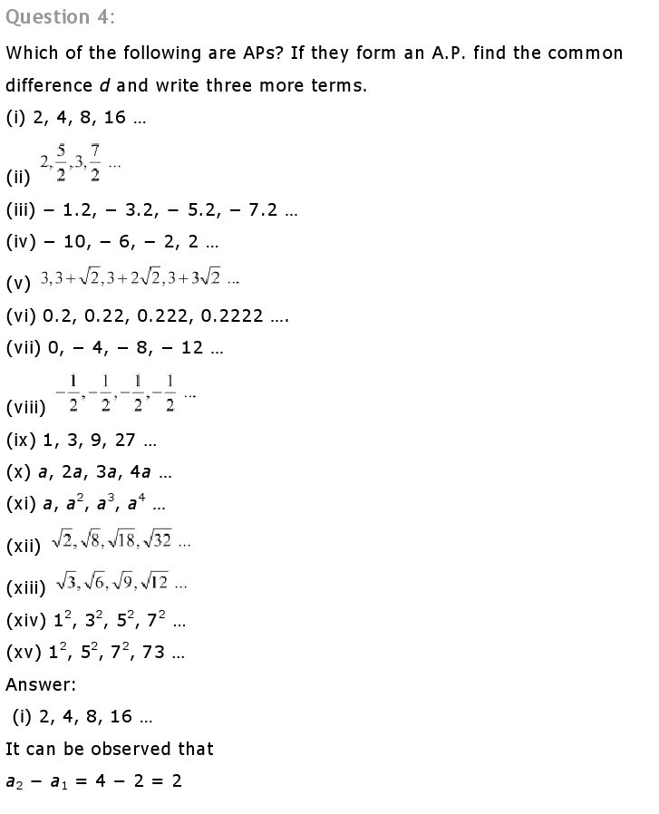 10th, Maths, Quadratic Equations 9