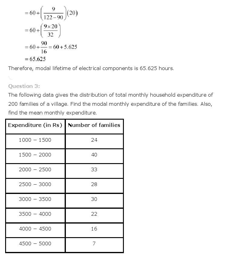10th, Maths, Statistics 18