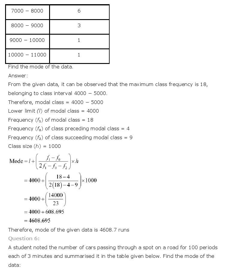 10th, Maths, Statistics 24
