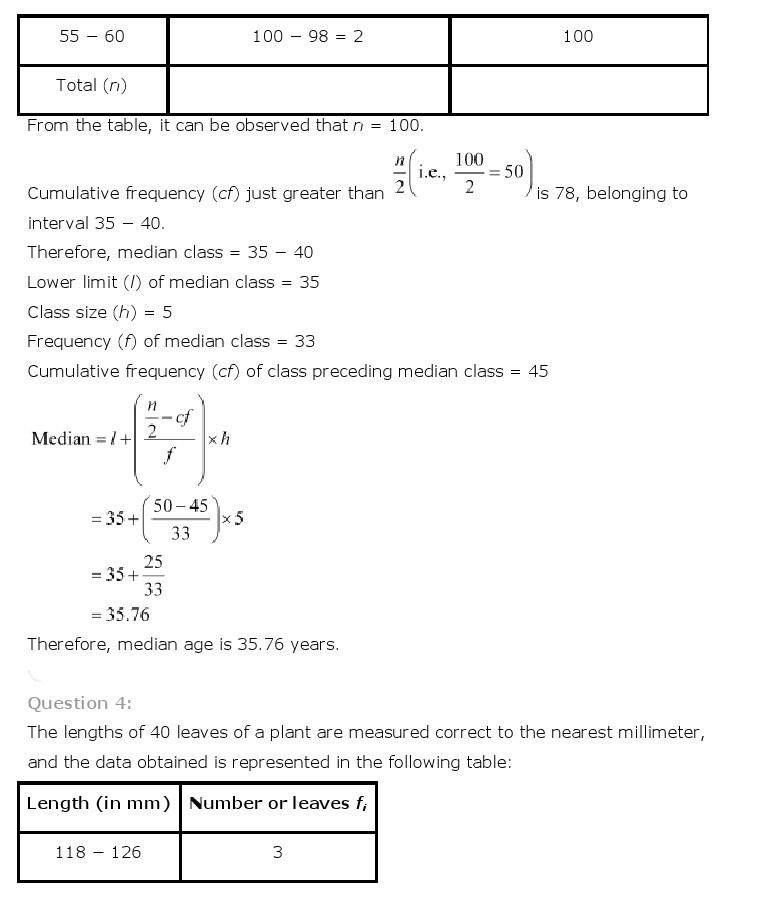 10th, Maths, Statistics 33