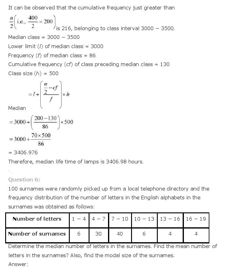 10th, Maths, Statistics 37