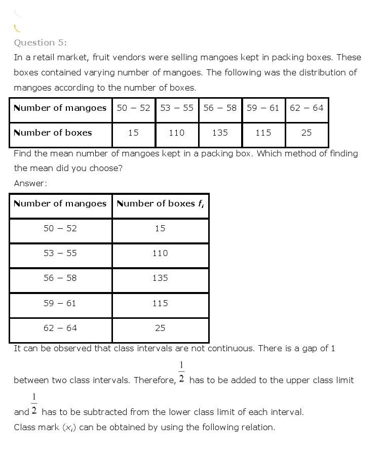 10th, Maths, Statistics 7