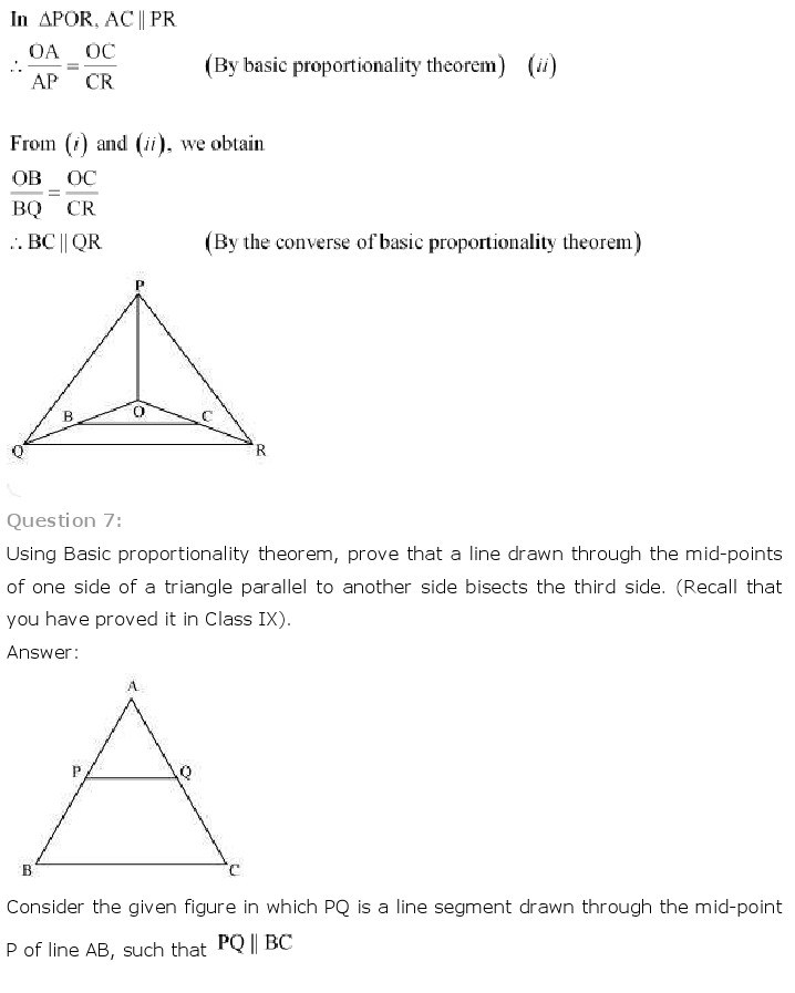 10th, Maths, Triangles 12