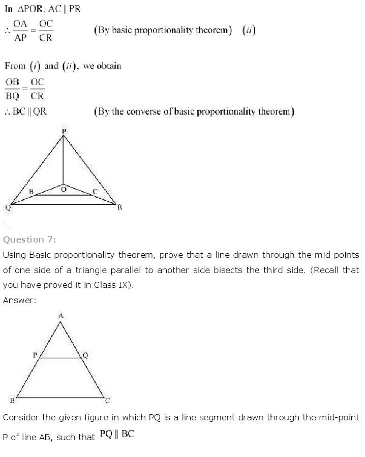 10th, Maths, Triangles 12