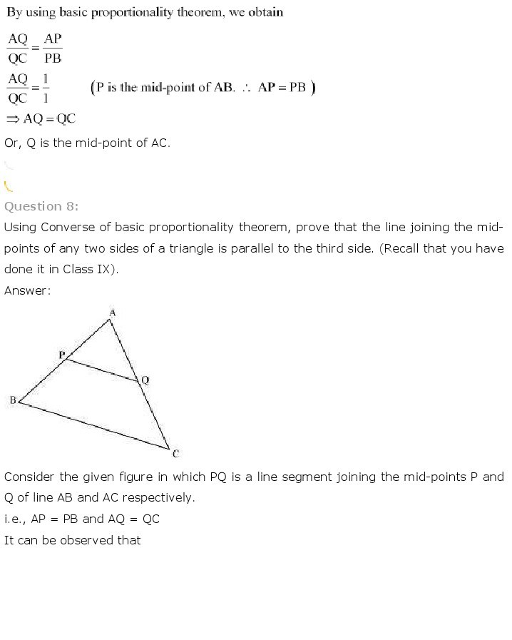 10th, Maths, Triangles 13