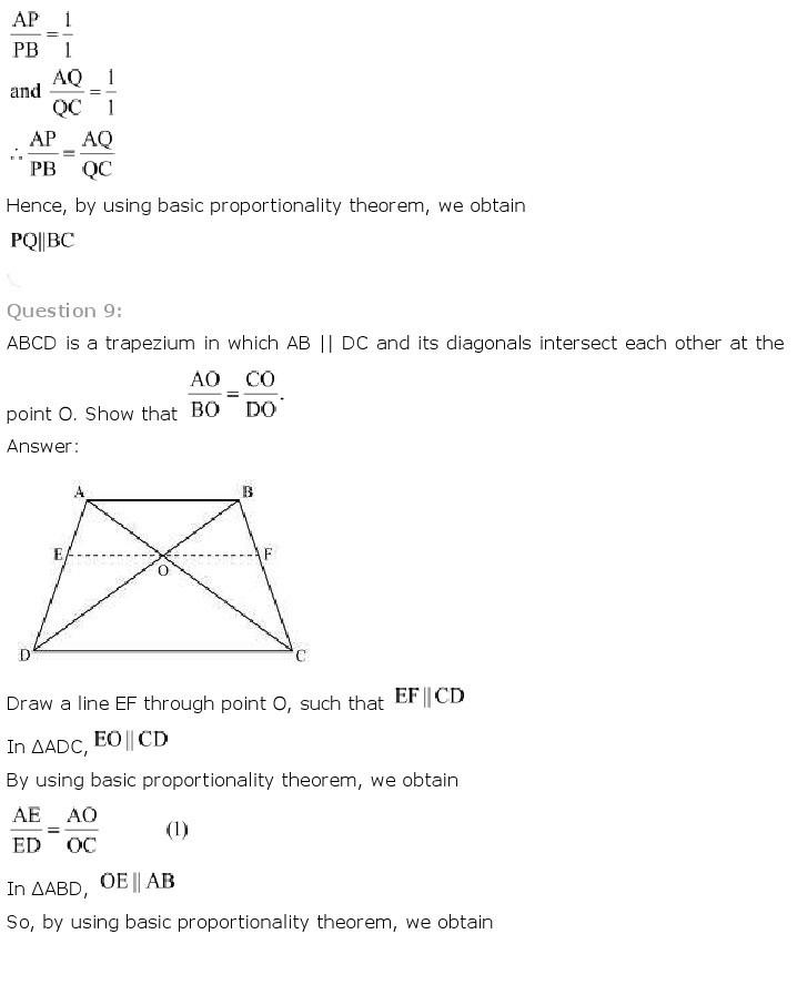 10th, Maths, Triangles 14