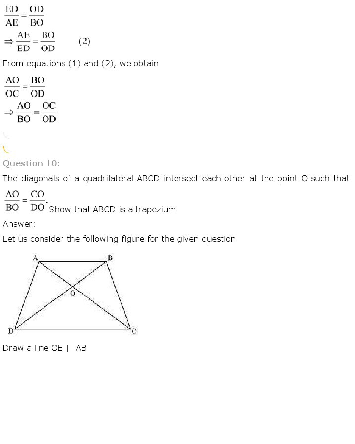 10th, Maths, Triangles 15