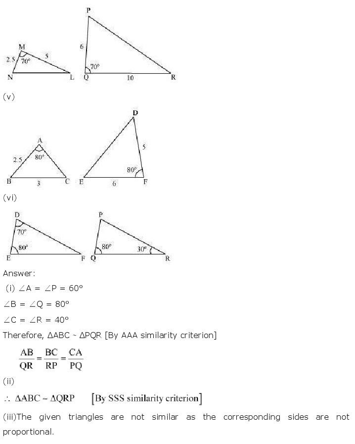 10th, Maths, Triangles 18