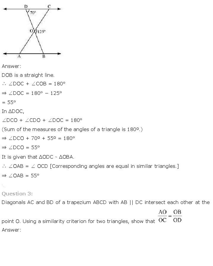 10th, Maths, Triangles 20