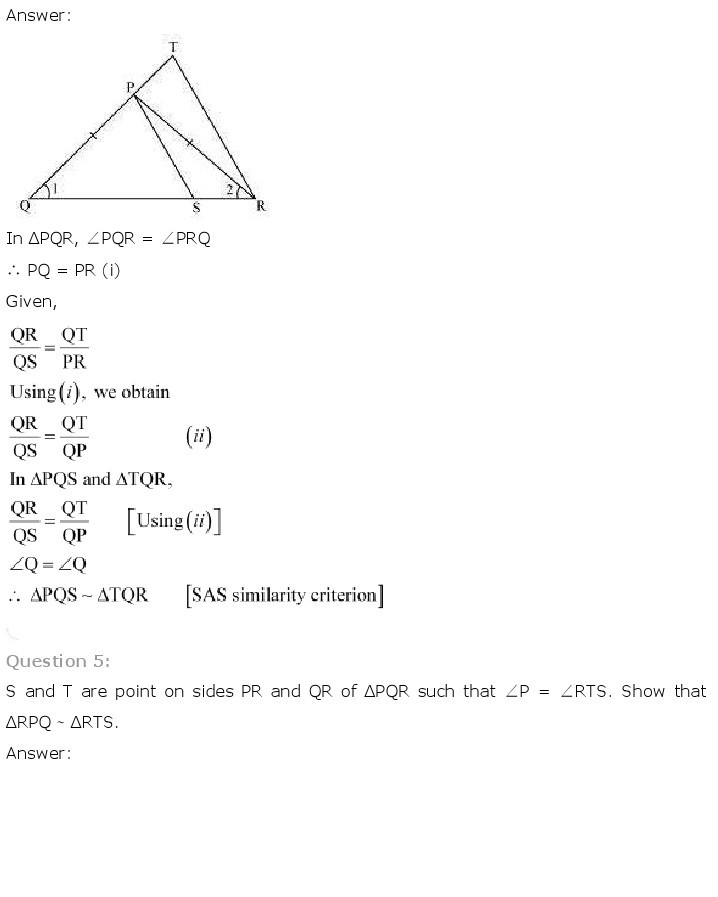 10th, Maths, Triangles 22