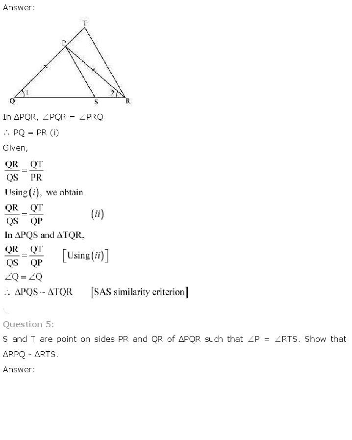 10th, Maths, Triangles 22