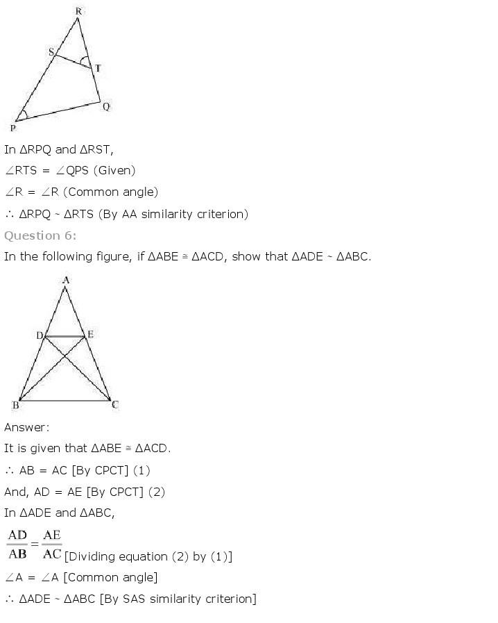 10th, Maths, Triangles 23