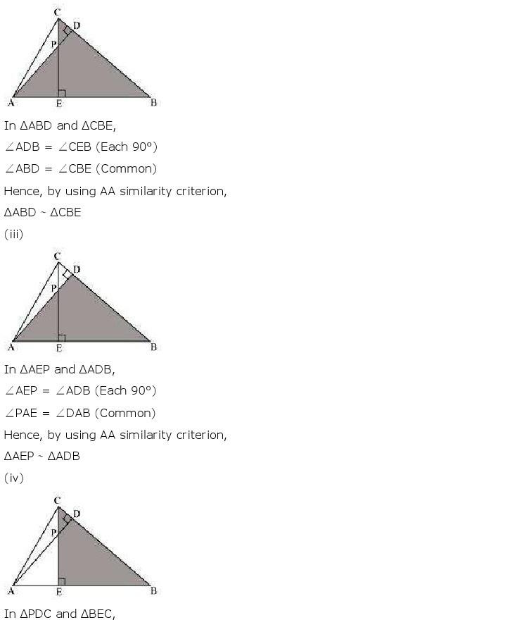 10th, Maths, Triangles 26