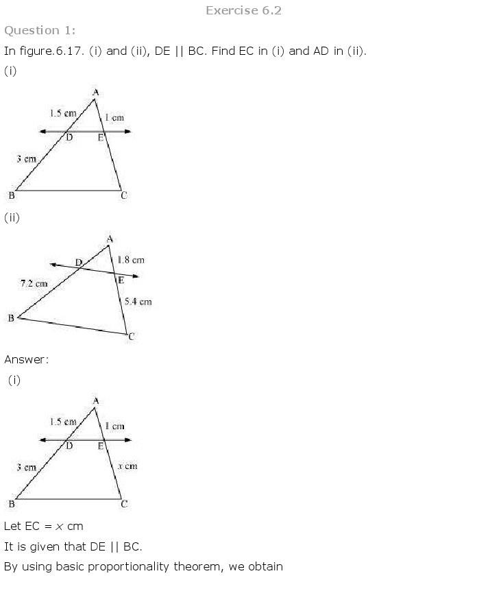 10th, Maths, Triangles 3