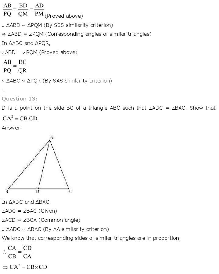 10th, Maths, Triangles 30