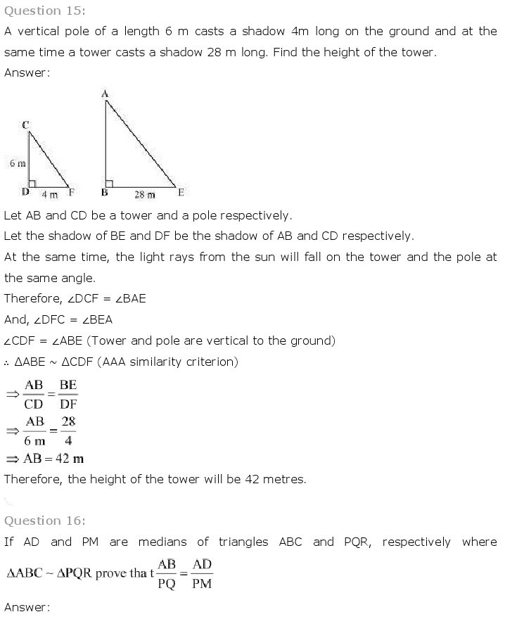 10th, Maths, Triangles 33