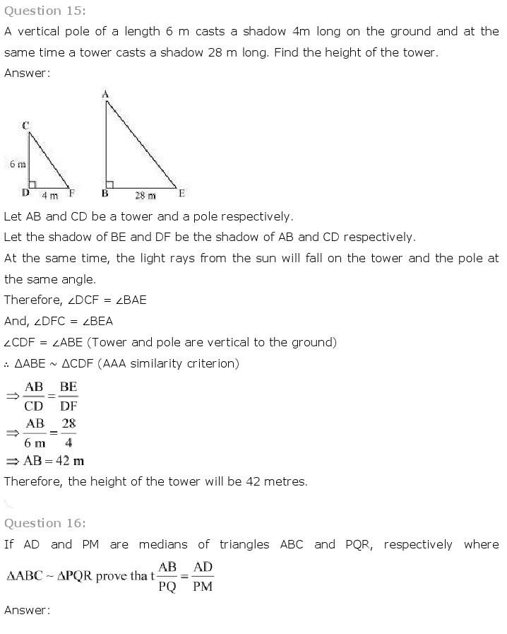 10th, Maths, Triangles 33