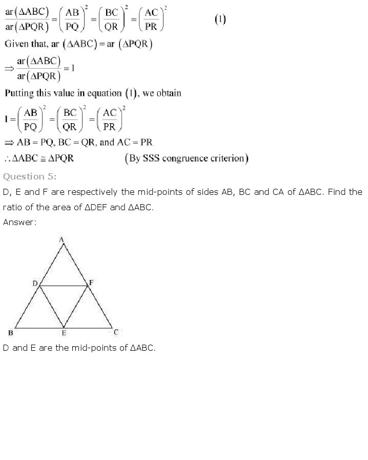 10th, Maths, Triangles 38