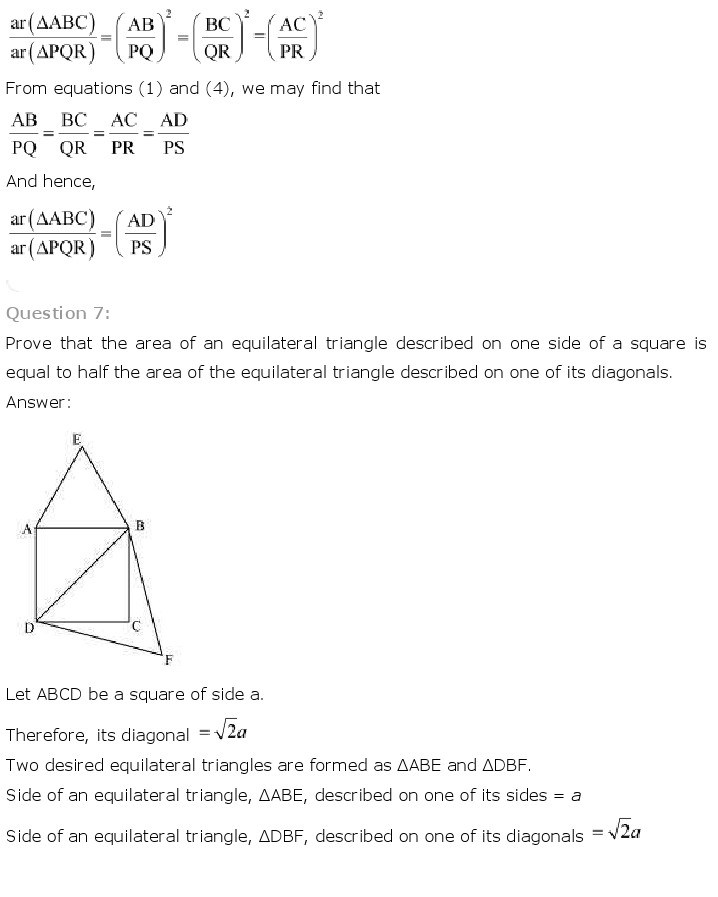 10th, Maths, Triangles 41