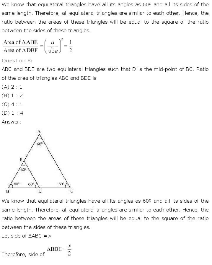 10th, Maths, Triangles 42