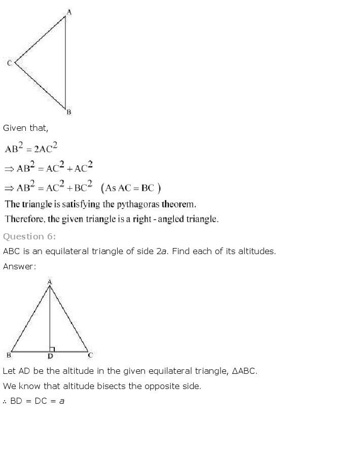 10th, Maths, Triangles 49