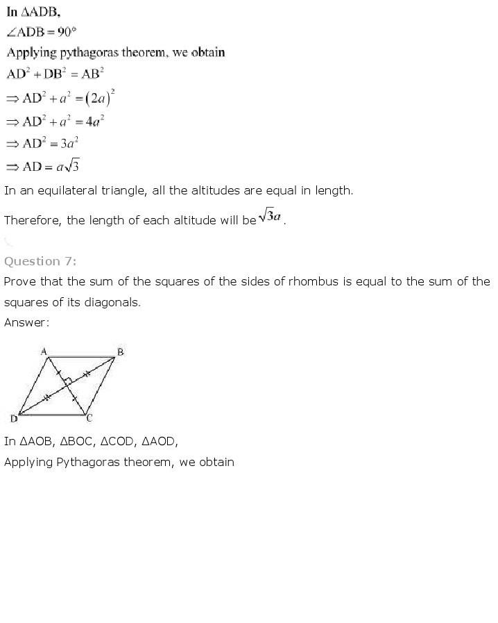 10th, Maths, Triangles 50