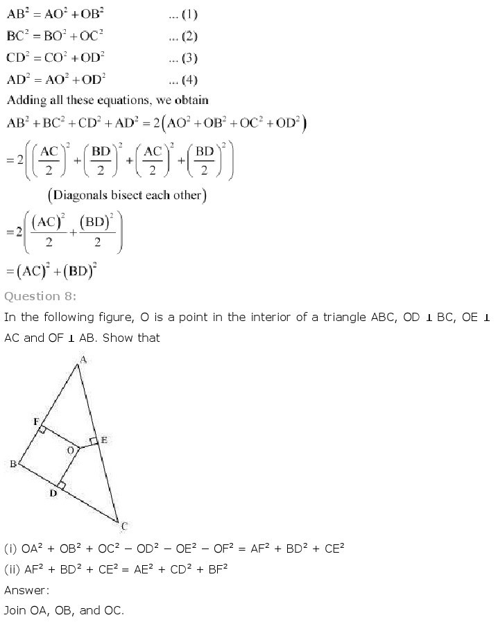 10th, Maths, Triangles 51