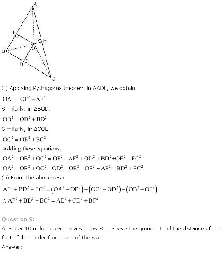 10th, Maths, Triangles 52