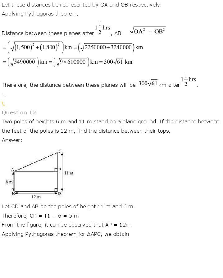 10th, Maths, Triangles 55