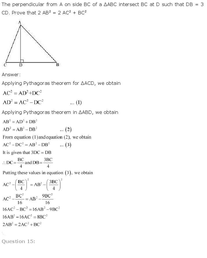 10th, Maths, Triangles 57