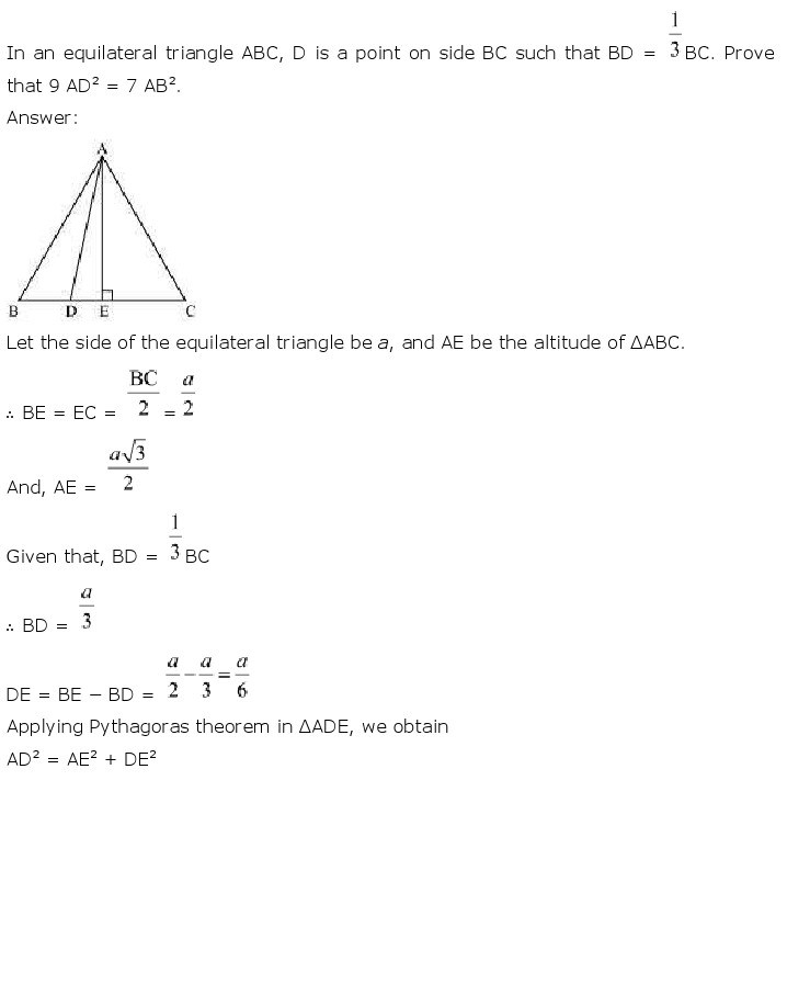 10th, Maths, Triangles 58