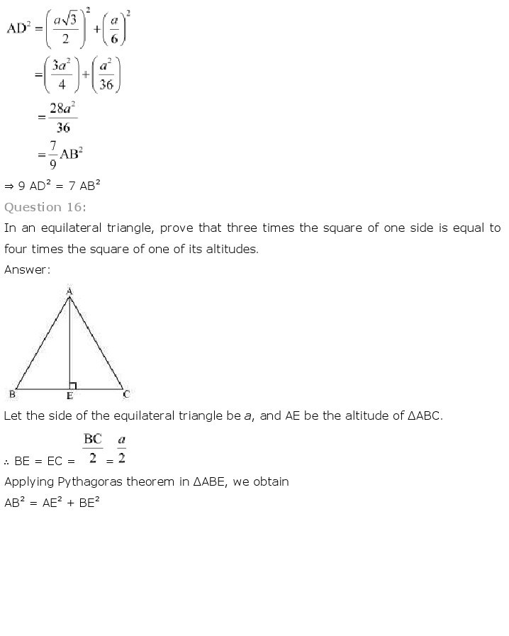 10th, Maths, Triangles 59