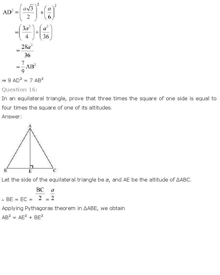 10th, Maths, Triangles 59