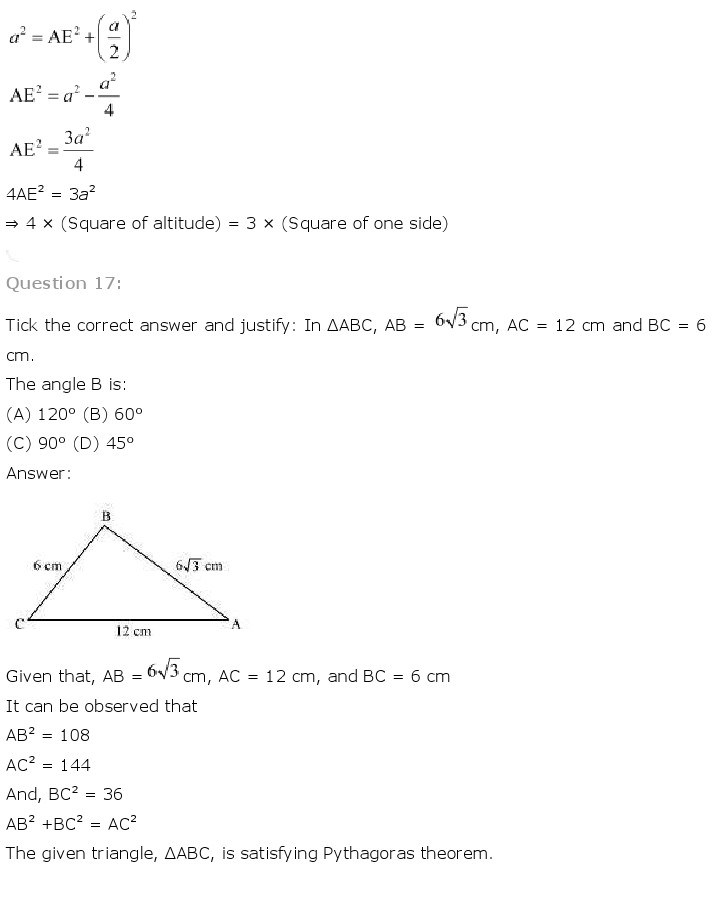 10th, Maths, Triangles 60