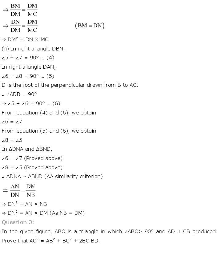 10th, Maths, Triangles 65