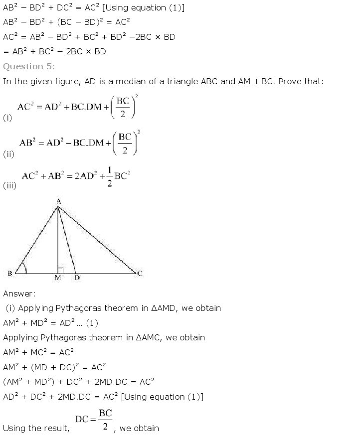 10th, Maths, Triangles 67