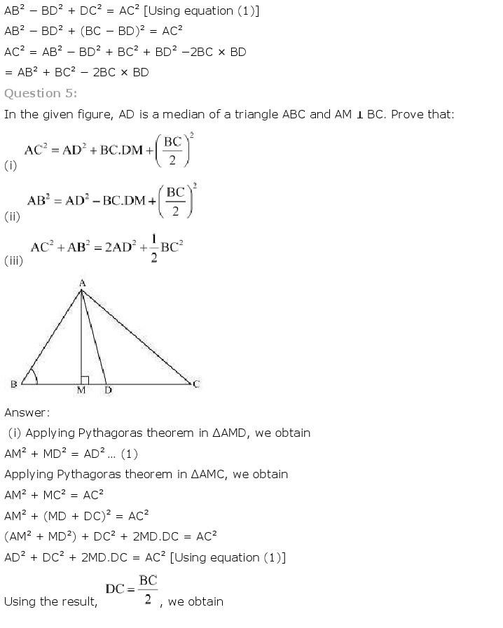 10th, Maths, Triangles 67
